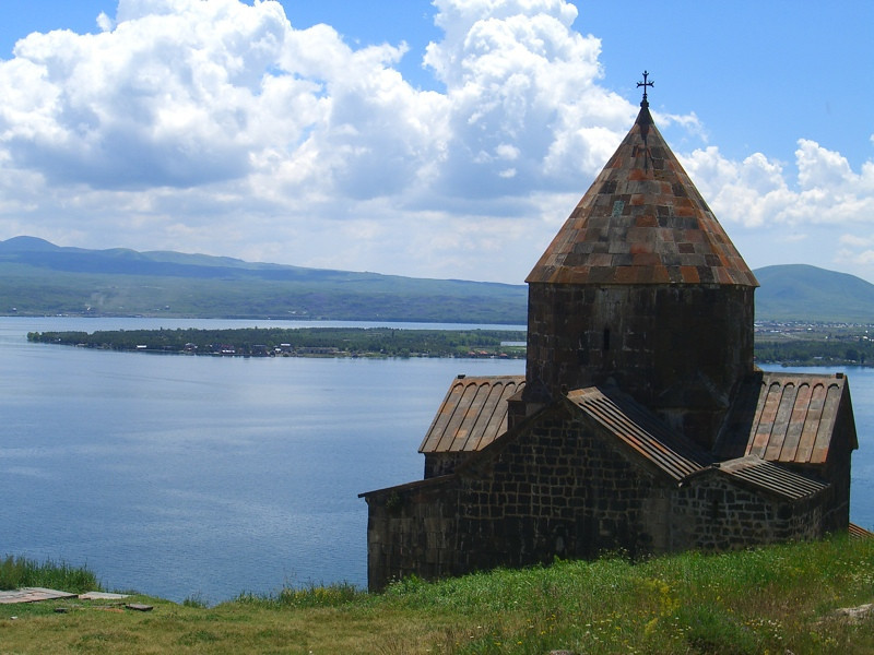 Astvatsatsin Church on Lake Sevan - Sevan, Armenia