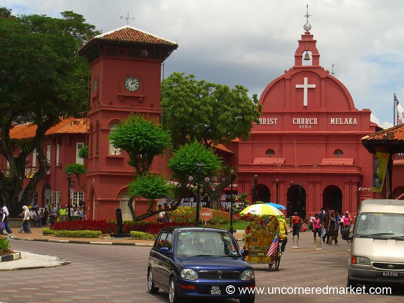 Dutch Architecture in Melaka, Malaysia