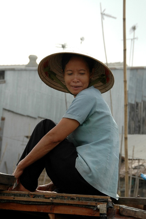 Woman at Can Tho - Mekong Delta, Vietnam