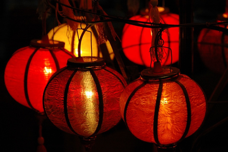 Glowing Lanterns - Hoi An, Vietnam