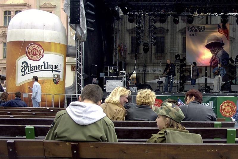 Liberation Day - Plzen, Czech Republic