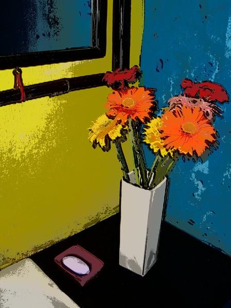 Impressionist Flowers - Hoi An, Vietnam