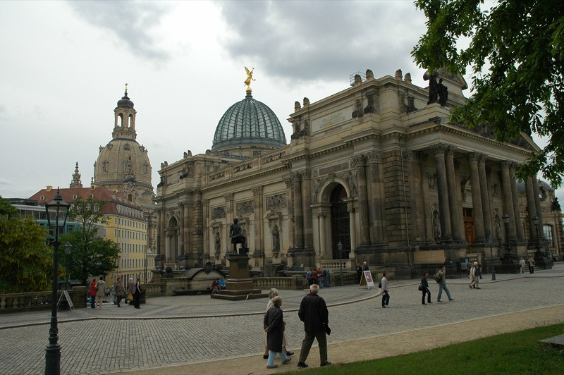 Museum District - Dresden, Germany