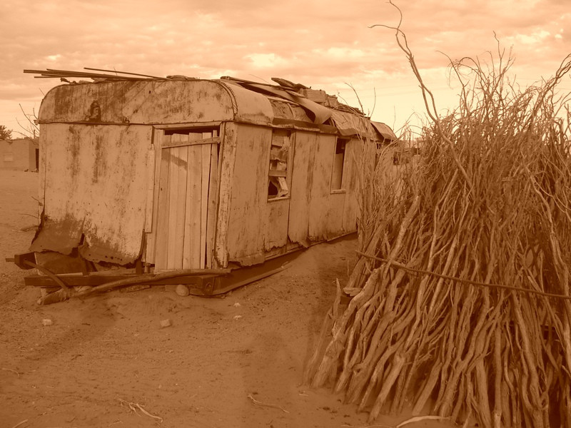 House in the Desert - Jerbent, Turkmenistan