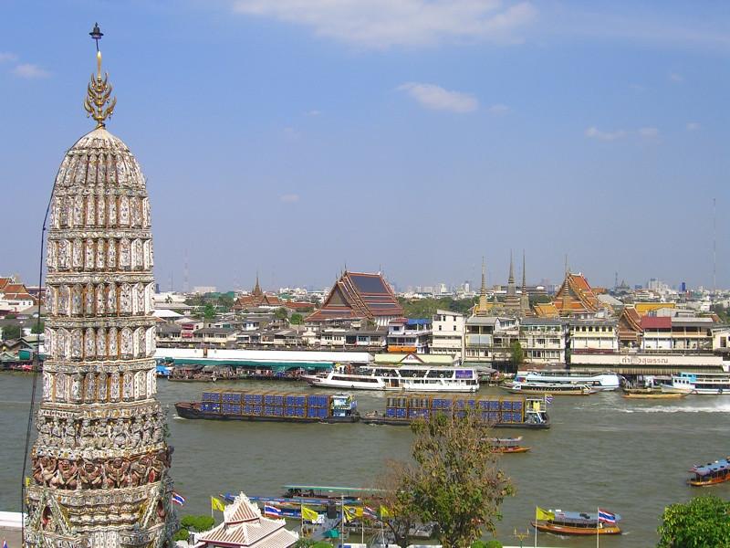 View of Old Bangkok - Bangkok, Thailand