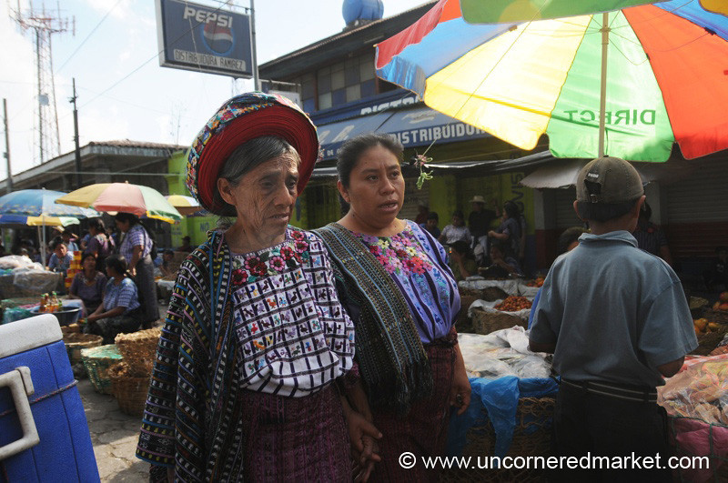 Indigenous Woman, Santiago La Laguna - Guatemala