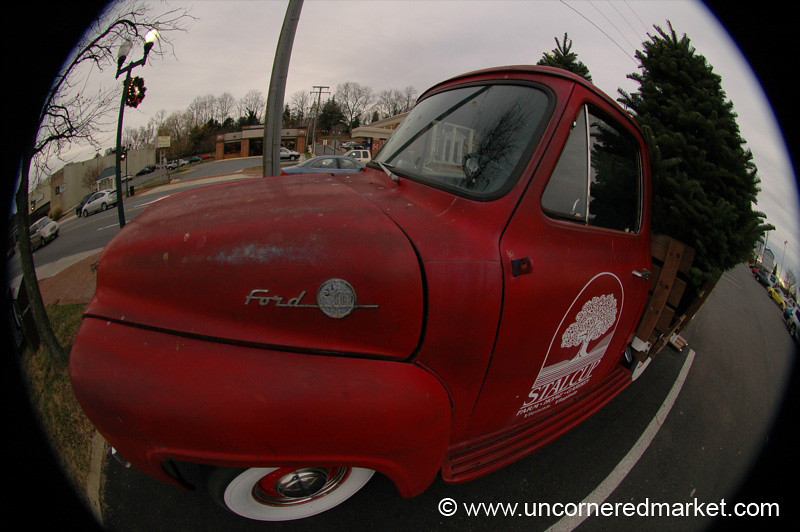 Fisheye Ford Truck - Vienna, Virginia