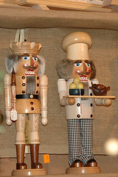 Nutcrackers at Christmas Market - Dresden, Germany