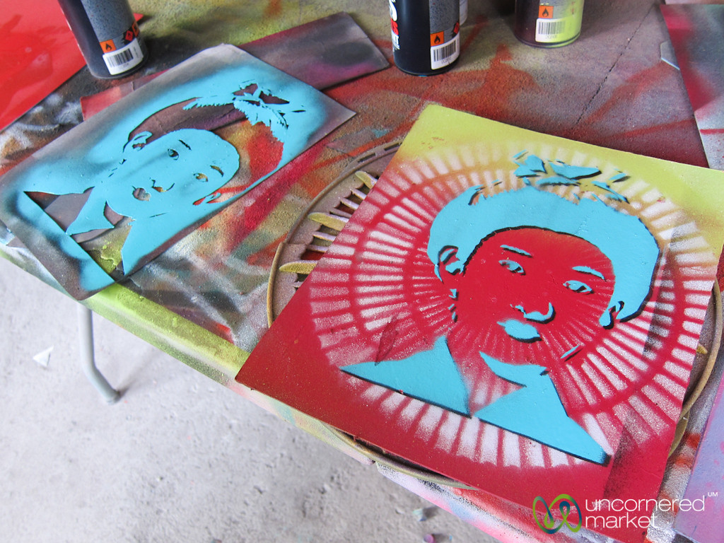Street Art Workshop, Stencil Art and Colors - Berlin