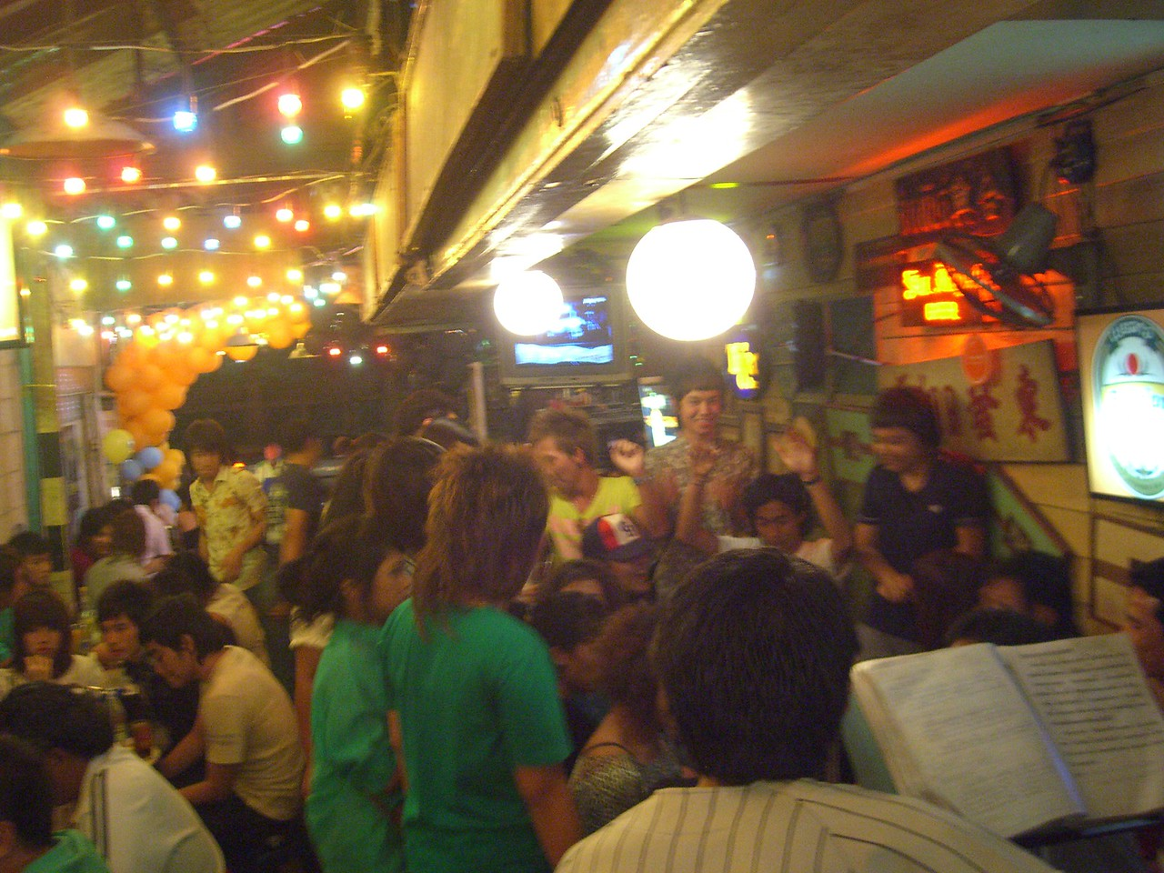 New Year's Party in Bangkok, Thailand