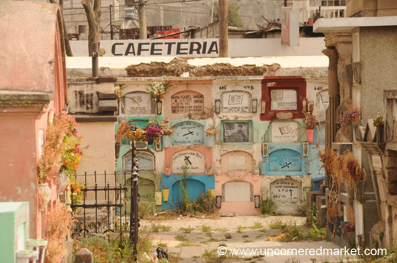 Cemetery Views - Xela, Guatemala