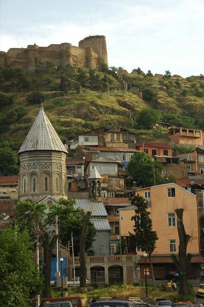 Sioni Cathedral and Narikala - Tbilisi, Georgia