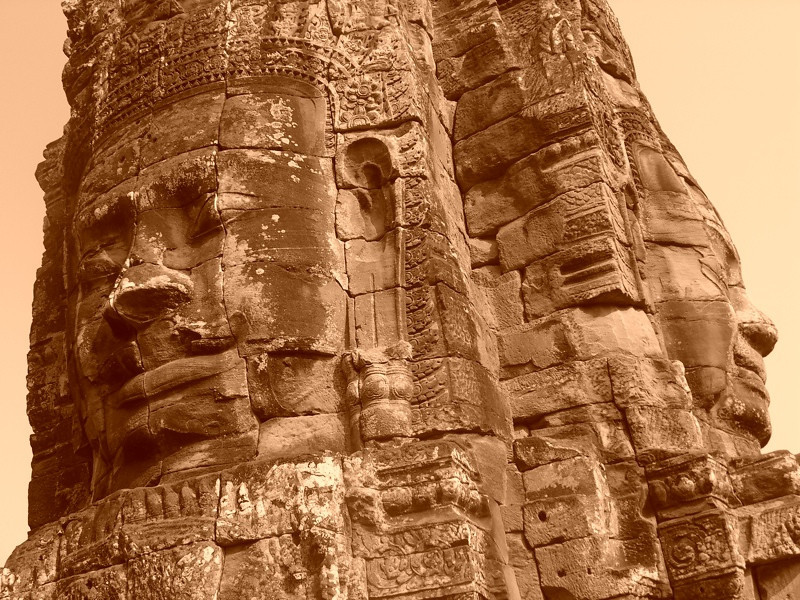Bayon's Faces - Angkor, Cambodia