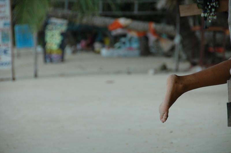 Foot on the Beach - Haad Yao, Thailand