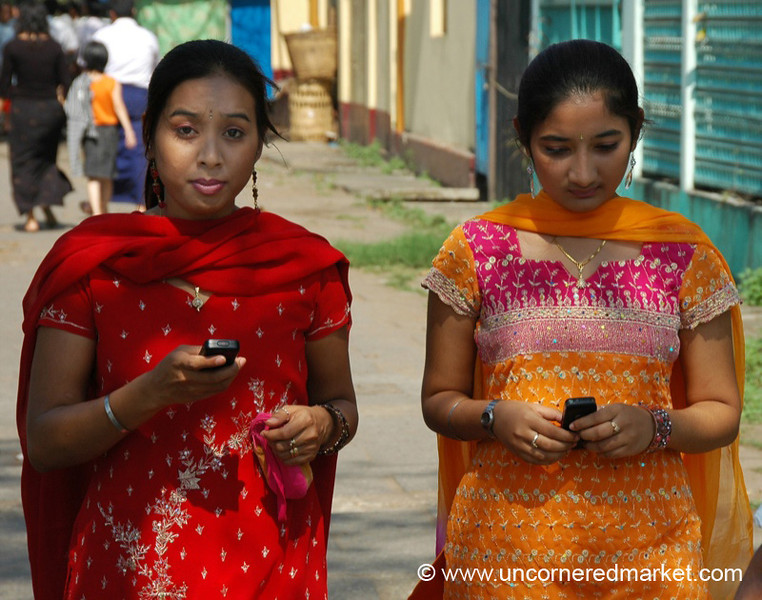 Mobile Phones in Rangoon, Burma (Yangon, Myanmar)