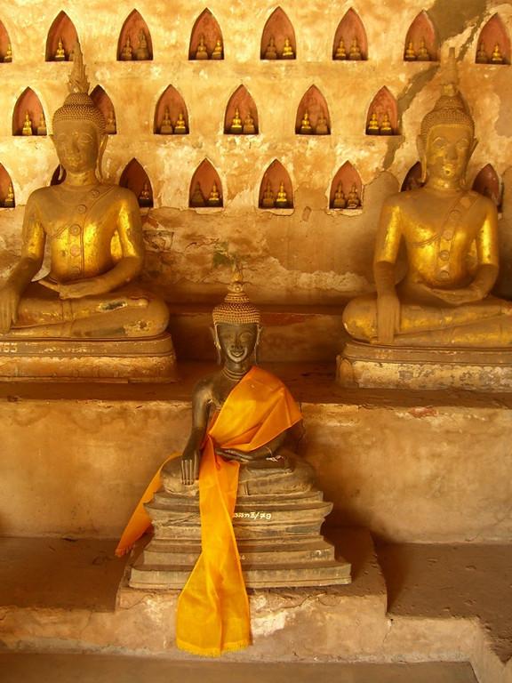 Buddha Statues - Vientiane, Laos