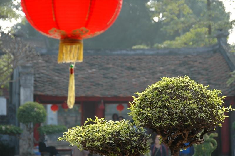Temple - Hanoi, Vietnam