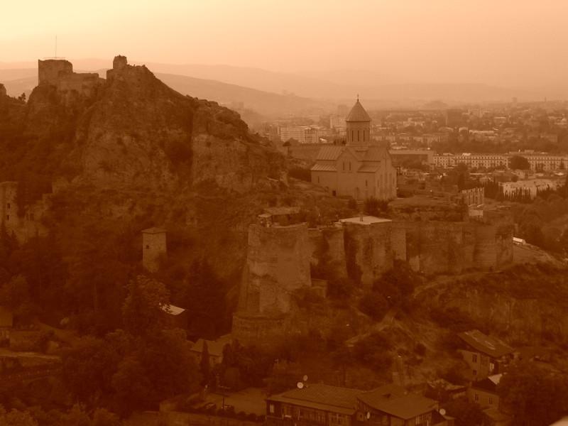 Tbilisi at Dusk - Narikala, Georgia