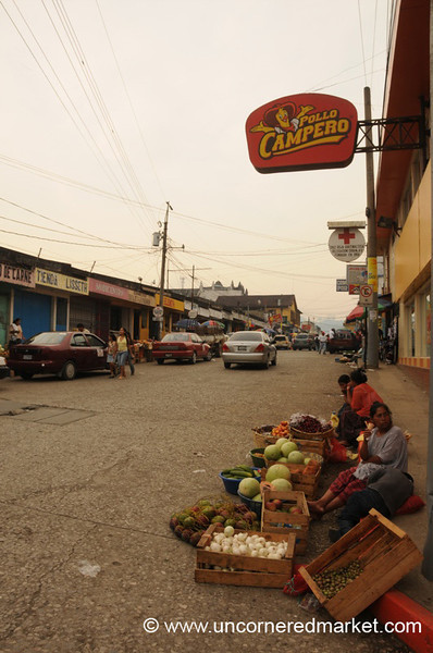 Fruits and Veggies Vendors - Coban, Guatemala