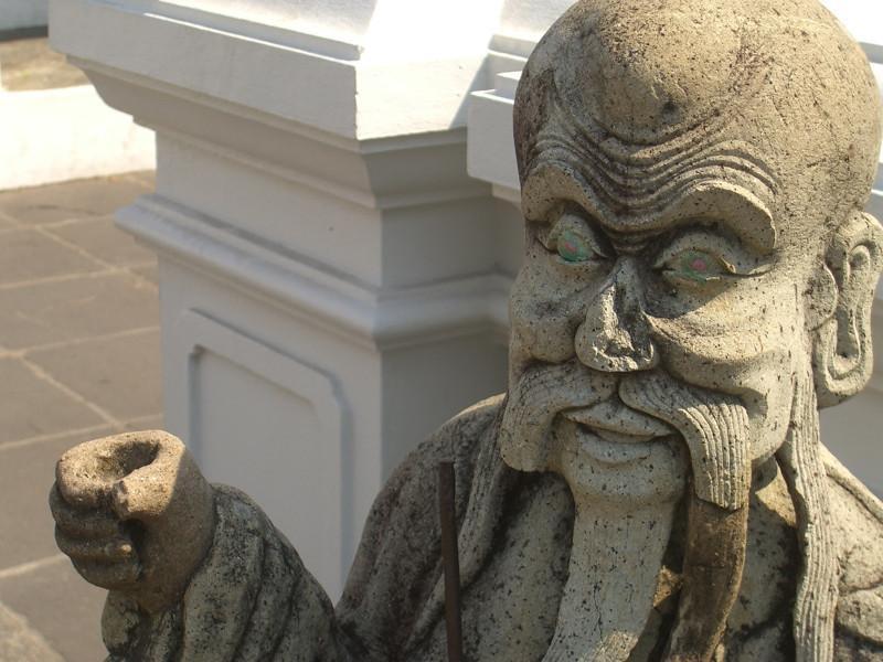 Stone Statue - Bangkok, Thailand