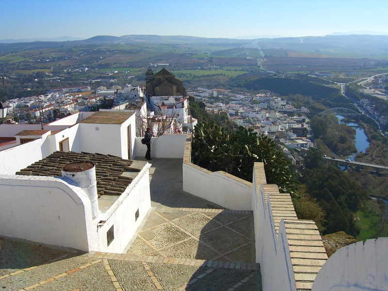 View from Arcos de la Frontera - Andalusia, Spain