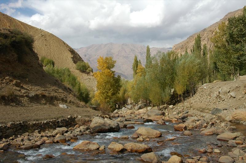 Autumn Landscape Views - Garm Chashma, Tajikistan