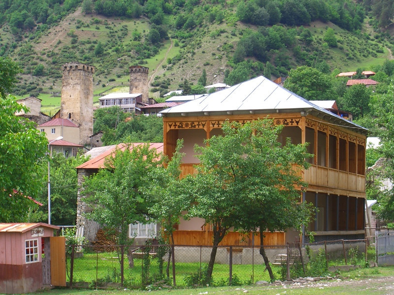 New House - Svaneti, Georgia