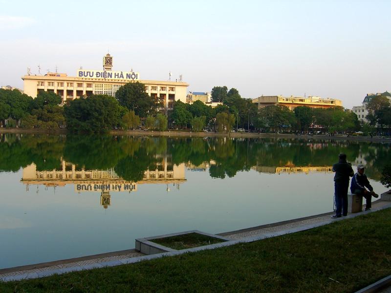 Hoan Kiem Lake - Hanoi, Vietnam