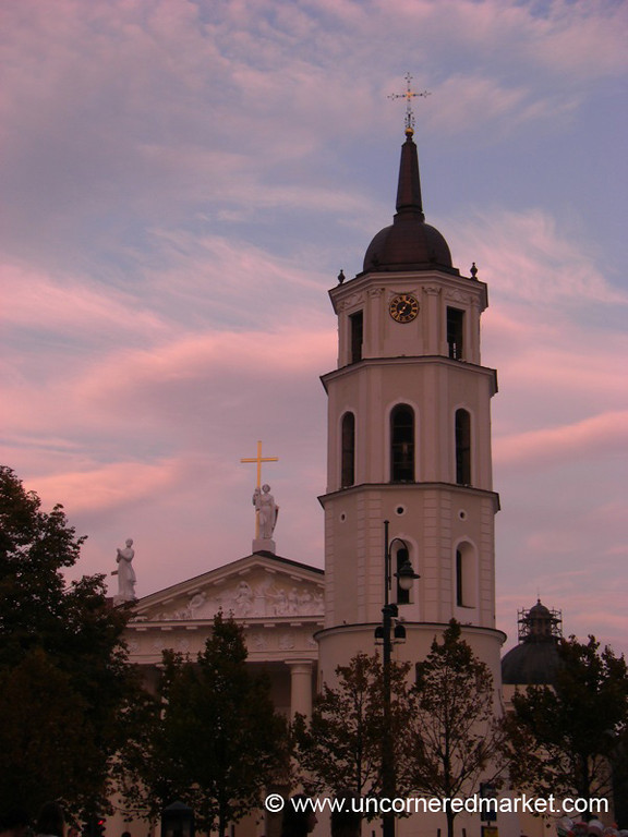 Cathedral Views at Dusk - Vilnius, Lithuania