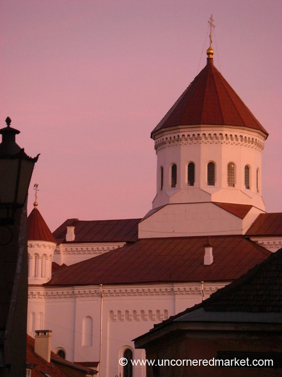 Church of Holy Mother, Late Afternoon - Vilnius, Lithuania