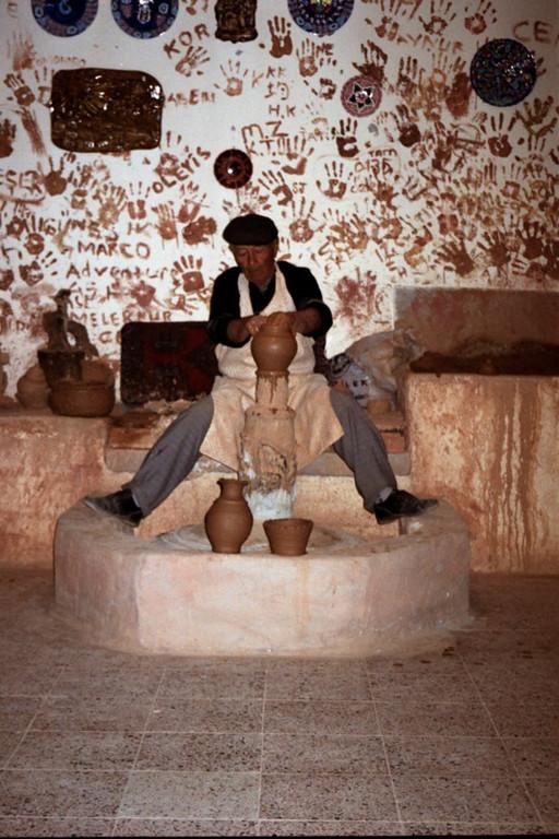 Traditional Potter - Cappadocia, Turkey
