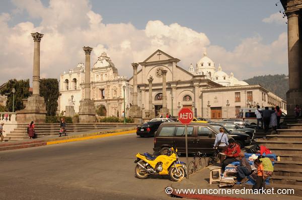 Xela's Central Square - Guatemala