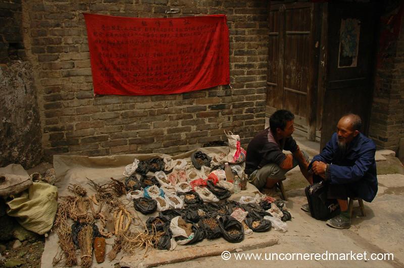 Traditional Chinese Medicine - Guizhou Province, China