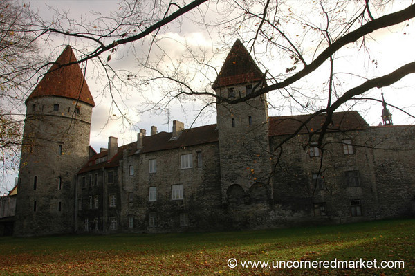 Tallinn's Medieval Towers and Walls - Estonia
