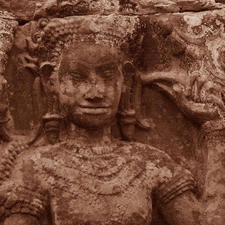 Apsara Dancer at Banteay Kdei - Angkor, Cambodia