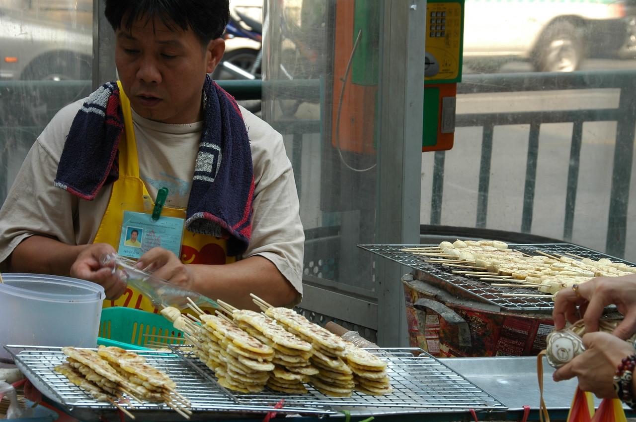 Grilled Bananas - Bangkok, Thailand