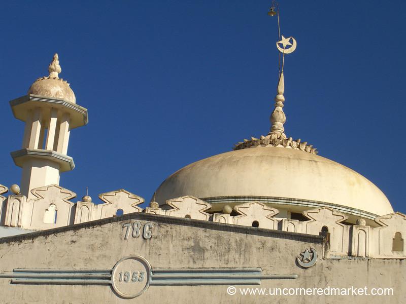 Mosque in Kalaw, Burma