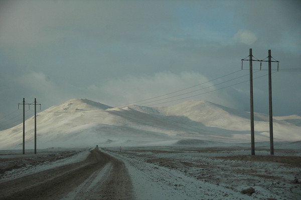Kyrgyz Mountain Scenery - Naryn, Kyrgyzstan