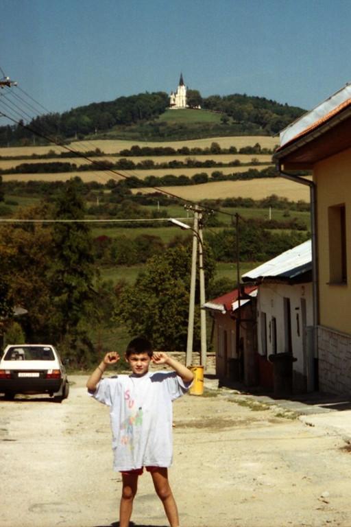 Boy on the Street - Teplice, Slovakia
