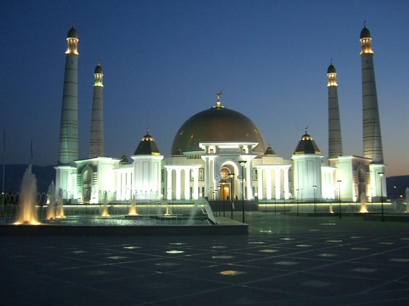 Kipchak Mosque - Ashgabat, Turkmenistan