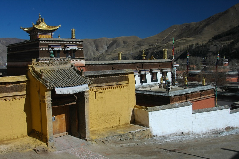 View of Labrang - Xiahe, China