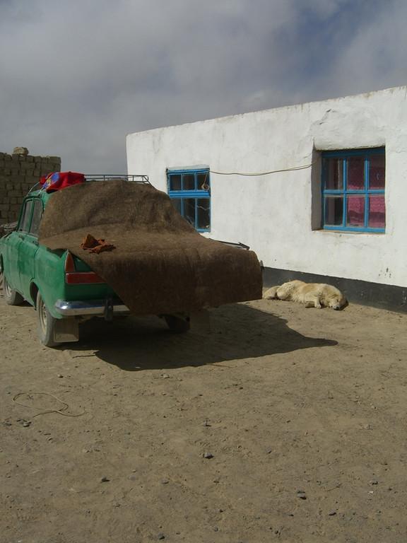 Covered Car - Murghab, Tajikistan
