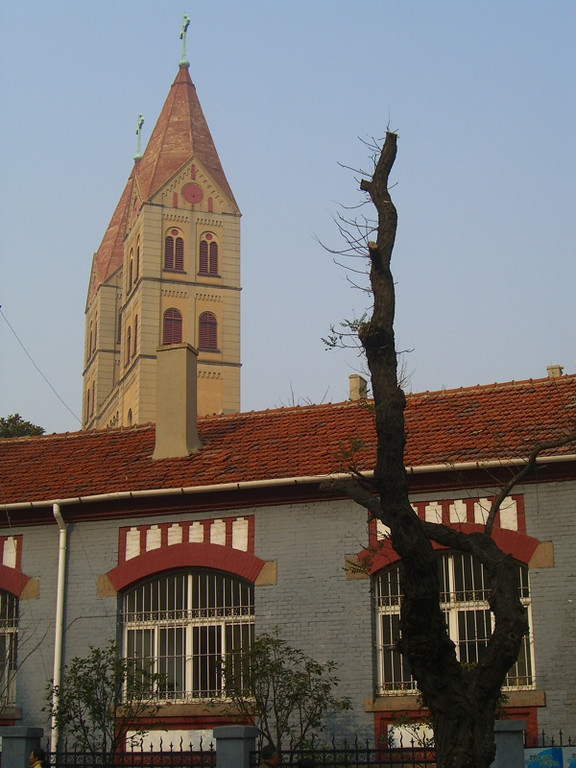 St. Michael's Church Spire - Qingdao, China