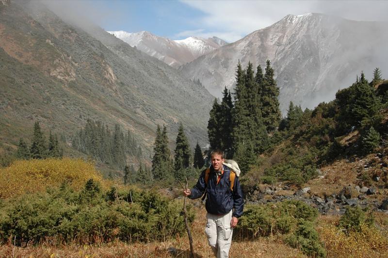 Hiking in Kyrgyz Mountains - Ala Kul Lake, Kyrgyzstan
