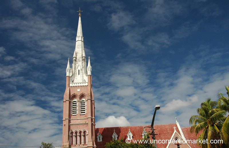 A European-Style Church - Rangoon, Burma (Yangon, Myanmar)