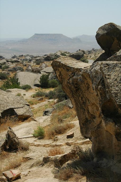 Ancient Landscape  - Gobustan, Azerbaijan