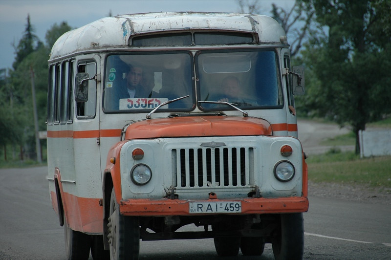 Transport in Georgia - Kakheti, Georgia