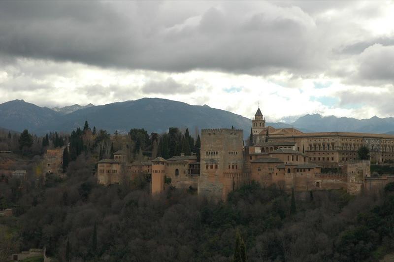 Alhambra Skyline - Granada, Spain