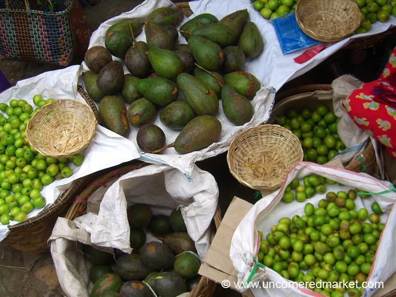 Avocadoes - Nam Pan, Burma