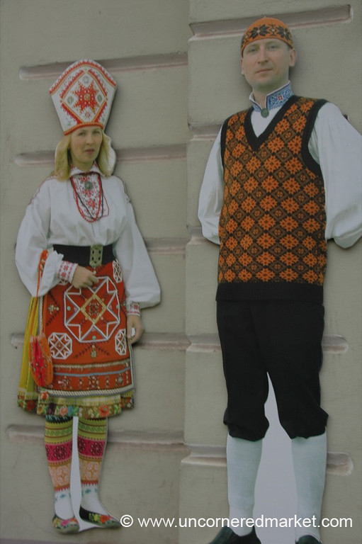 Estonian Costumes - Tartu, Estonia
